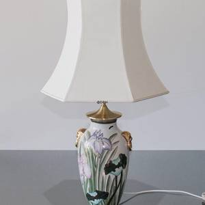 Fleur-de-Lis, Chinese table lamp