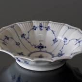 Blue Fluted, Plain, Bowl