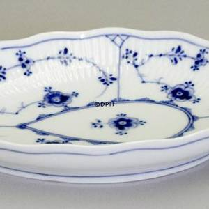 Blue Fluted, Plain, Pickle dish 20cm | No. 1-152 | Alt. 1/152 | DPH Trading