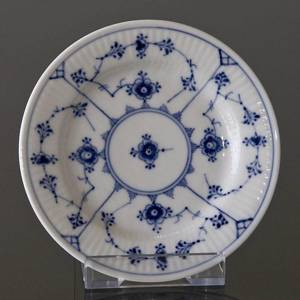 Blue Fluted, Plain, Flat plate 15cm | No. 1-181 | DPH Trading