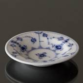Blue Fluted, Plain, small round dish 9cm