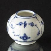 Blue Fluted small vase