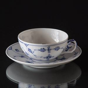 Blue Fluted, Plain, Tea cup, capacity 18cl., Royal Copenhagen