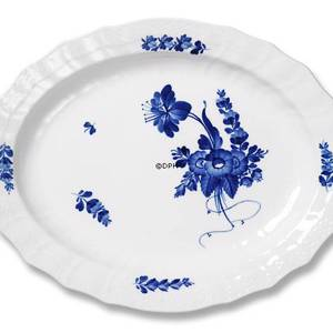 Blue Flower, Curved, oval Serving Dish 45 cm, Royal Copenhagen | No. 10-1558 | DPH Trading