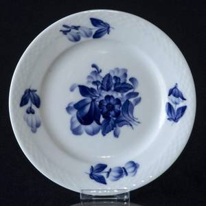 Blue Flower braided, flat cake plate Ø15cm