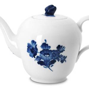 Blue Flower, Braided, Tea Pot, small, Royal Copenhagen