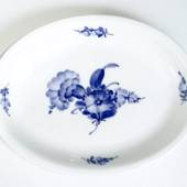 Blue Flower, braided, oval dish 26x20cm