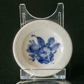 Blue Flower, Braided, small round dish, Royal Copenhagen ø7.5 cm