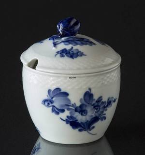 Blue Flower, Braided, Jam Jar with Lid, Royal Copenhagen