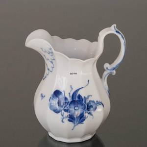 Blue Flower, Angular, cream or milk Jug | No. 10-8520 | DPH Trading
