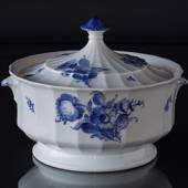 Blue Flower, angular, tureen