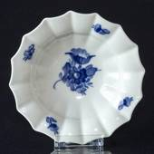 Blue Flower, Angular, oval Pickle dish ø15cm
