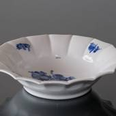 Blue Flower, Angular, oval Pickle dish ø17cm