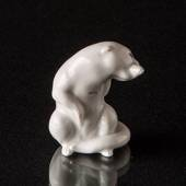 White Otter figurine, Royal Copenhagen