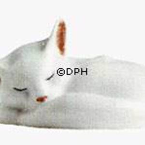 White Cat figurine, Royal Copenhagen