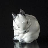 White rabbit figurine, Royal Copenhagen