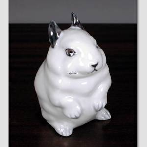 Young Rabbit, Royal Copenhagen figurine no.22690 | No. 1003250 | Alt. R22690 | DPH Trading