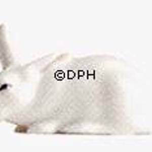White rabbit figurine, Royal Copenhagen figurine