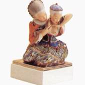 Fairytale 1, Royal Copenhagen overglaze figurine no. 1476