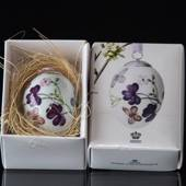 Easter egg with purple butterfly, Royal Copenhagen Easter Egg 2016