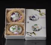 Easter egg with butterflies, 2 pcs., Royal Copenhagen Easter Egg 2016