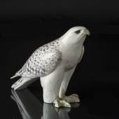Icelandic Falcon, Royal Copenhagen bird figurine no. 263