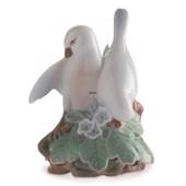 Lovebirds, Royal Copenhagen figurine no. 402