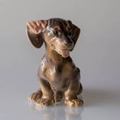 Dachshund, Royal Copenhagen dog figurine no. 856