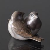 Pair of Sparrows, Royal Copenhagen figurine no. 1309