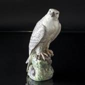 Icelandic falcon, Royal Copenhagen bird figurine no. 1661