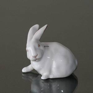 White rabbit, Royal Copenhagen figurine no 1691