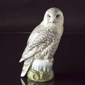 Snowy owl, Royal Copenhagen bird figurine no. 1829