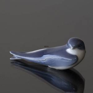 Swallow, Royal Copenhagen bird figurine no. 2374