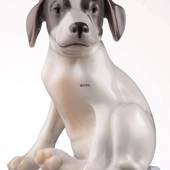 Pointer Puppy, Royal Copenhagen dog figurine