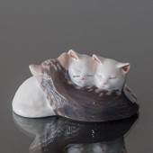 Three Kittens sleeping, Royal Copenhagen figurine