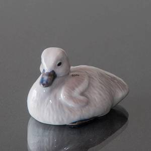 Cygnet, Royal Copenhagen bird figurine