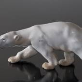 Polar Bear walking, Bing & Grondahl figurine no. 1785