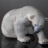 Polar Bear, Bing & Grondahl figurine no. 1857