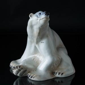 VERY LARGE Polar Bear, Bing & Grondahl figurine no. 1954 | No. 1020442 | Alt. B1954 | DPH Trading