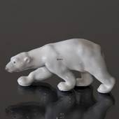 Polar bear walking, Bing & Grondahl figurine no. 2218