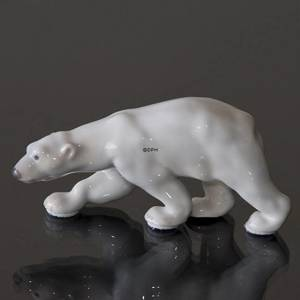 Polar bear walking, Bing & Grondahl figurine no. 2218 | No. 1020459 | Alt. B2218 | DPH Trading