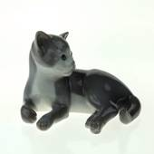 Lying Kitten, Bing & Grondahl cat figurine no.2514