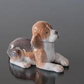 Beagle, Bing & grondahl dog figurine no. 2565