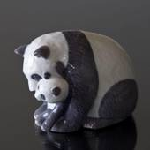 Panda with Cub, motherly love, Royal Copenhagen figurine