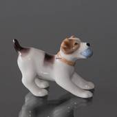 Foxterrier, Royal Copenhagen dog figurine