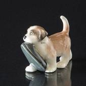 St. Bernard dog, Royal Copenhagen dog figurine