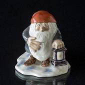 Pixie with Lantern, Wiberg, Royal Copenhagen Christmas figurine