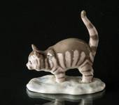 Cat, Wiberg, Royal Copenhagen Christmas figurine