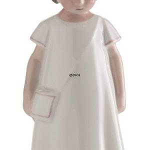 Else in a white dress, Bing & Grondahl figurine no. 2574