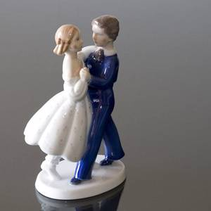 Dancing Couple, Girl and Boy dancing, Bing & grondahl figurine no. 2385